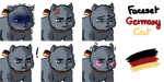 [RPG Maker VXAce] Faceset Germany Cat by ImperialFrance