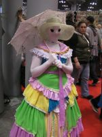 NYCC 2012: Ms. Paint by murkrowzy