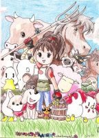 Harvest Moon: AWL by A-Dance-In-The-Rain