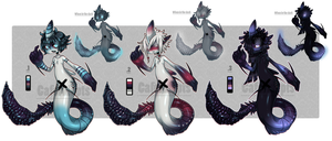 Sharklits Adoptables [Closed] by CafeOffender