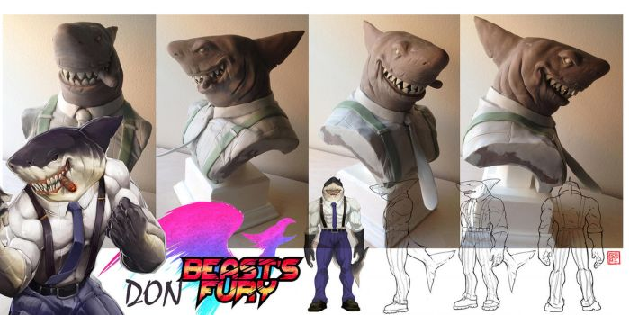 BEASTS FURY don bust by rgm501