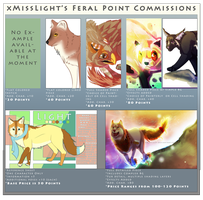 Feral Point Commissions by dayylights