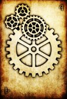 WRD: Four of Cogs by TormentedArtifacts