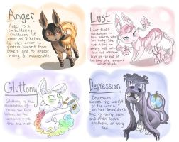 eeveelutions two by Kazia-Kat