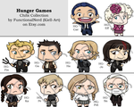 Chibi Collection - Hunger Games by Kiell-Art