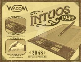 Wacom Intuos 1949 Box 2 by roberlan