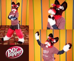 Dr Pepper Schnauzer by LobitaWorks