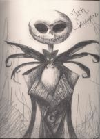 Jack Skellington by azurespirit