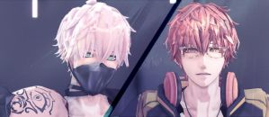 MMD ~ Mystic Messenger ~ ...Stop it...why? by IkaIkaMMDDA