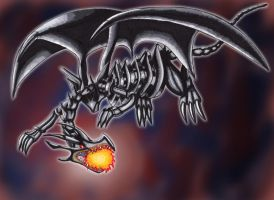 Red Eyes Black Dragon Art Trade by Creative-Dreamr