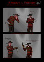 Freddy vs. Freddy part 1 by Naiku-Haru