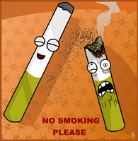 no smoking by MrGobi