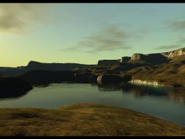 Terragen - Clear Water by duris