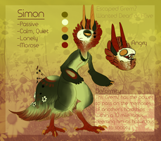 Simon Refsheet by MrGremble
