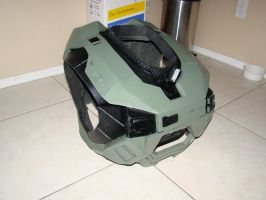 Halo Reach Foam build Torso front view by Hyperballistik