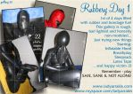 "Gallery 30 ""Rubbery Day 1"" by LadyArrakis"