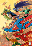 Justice League of America - Marching Forward by ElOctopodo