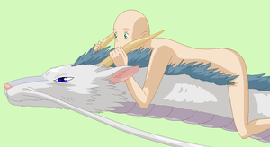sen riding haku base by Destinys-Heart