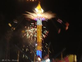 Crazy Ride Lights at the Show by CuriouserX10