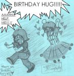BIRTHDAY HUG by darkgex