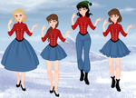 The Monkees-Female Version by Bundles-Of-Fun
