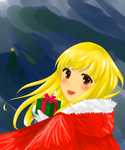 Contest Time: Christmas Coloring contest by llue12