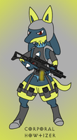 Corporal Howtizer by MikeGTS