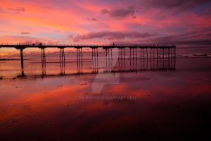 saltburn sunset 1 by ks-photo