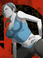 Wii fit trainer by Cjright2