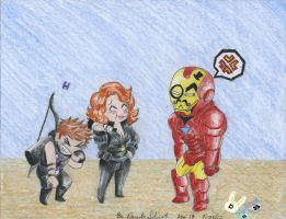 The real face of Iron Man!!!! by BetaoftheBass