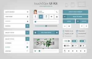 Touch 50px UI Kit by DarkStaLkeRR