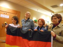 NDK 2012-hetalia- Axis -Germany DERP by peppermix14