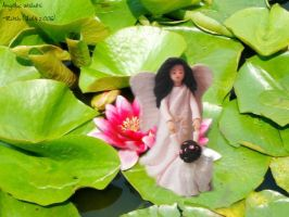 Angelic water lilies by roshducky