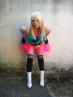 Colorful Girl Stock Photo 2 by cherrybomb-81