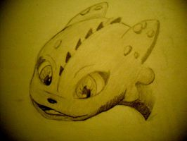 Request~ Toothless by DreamDrifter91
