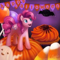 Pinkie Pie's Happy Halloween by LaurenMagpie