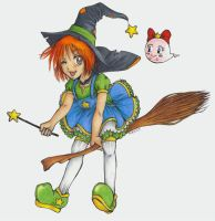 Girl Witch by m3ru
