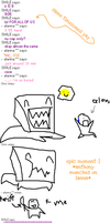 DW Part 2: Mr. Paperbaghead by Sx2