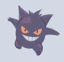 Gengar by Bumbledom