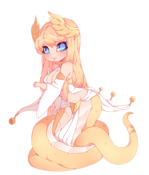 Lamia by punipaws