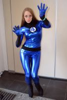 Invisible Woman Cosplay at 2015 Sydney Supanova by rbompro1