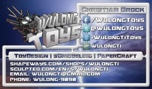 WuLongToys Business Card by wulongti