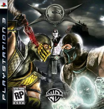 Mortal Kombat 9 Box Art by emerio