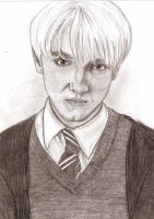 Tom Felton as Draco Malfoy by MajaGantzi