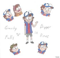 Dipper Pines by Umi-Tatsuky