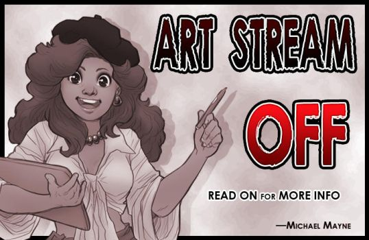 Art Stream -OFF- by MichaelMayne