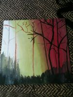 Painting I made today by Fhalarna