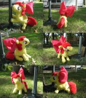 """+-Apple Bloom Custom Plush-+"" by Eternalskyy"