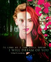 Jace and Clary by LaliPattinsonFenty