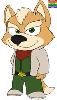Fox McCloud by BaronTremayneCaple
